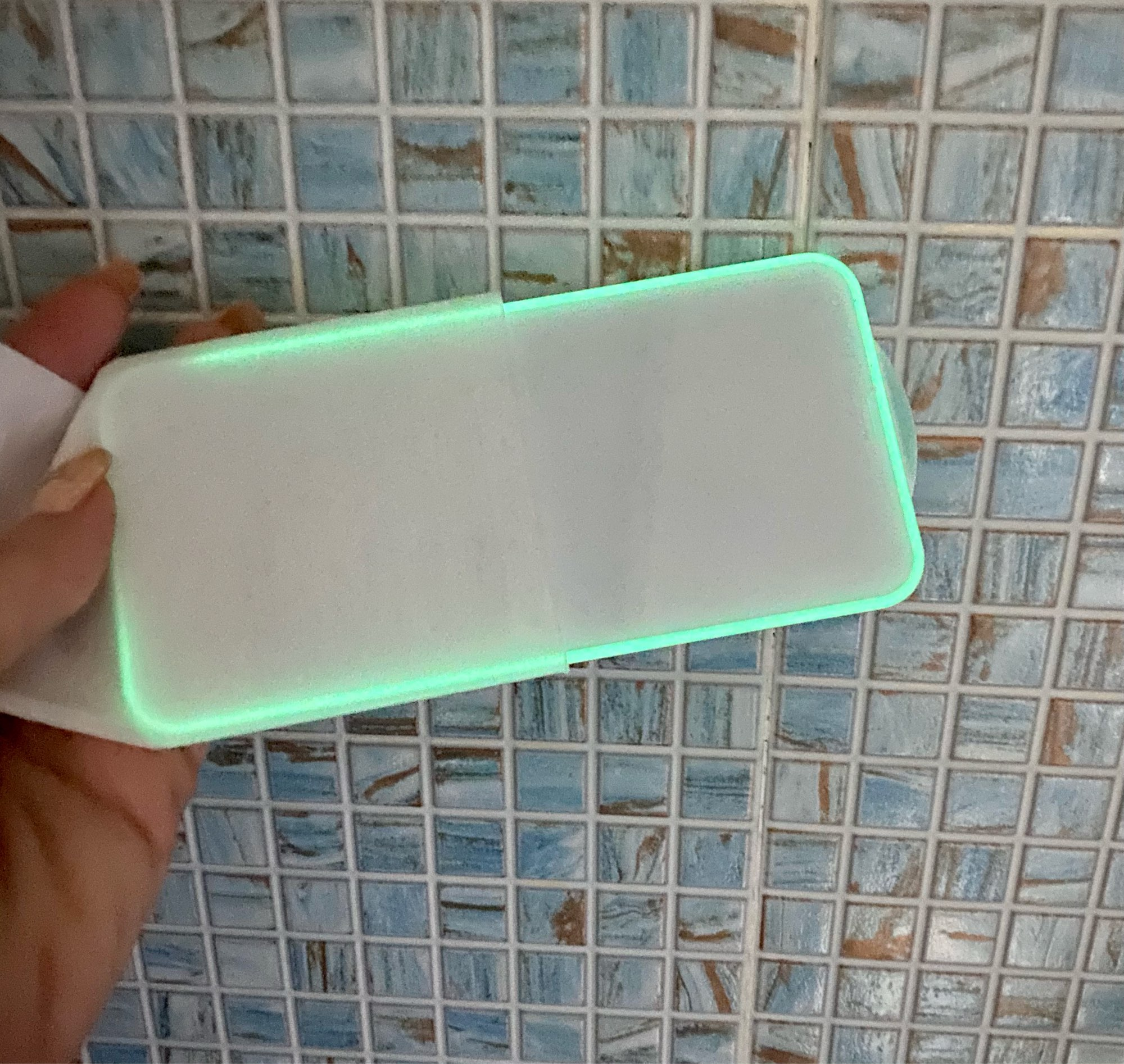 Luminous Tempered Glass  For iPhone photo review