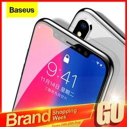 Baseus 0.3mm 화면 보호기 iPhone 11 Pro Xs Max X Xr SE 2020 용 강화 유리 iPhone 11Pro Max 용 보호 유리