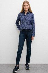 ¡Estados Unidos POLO ASSN! Pantalones vaqueros ajustados azules normales