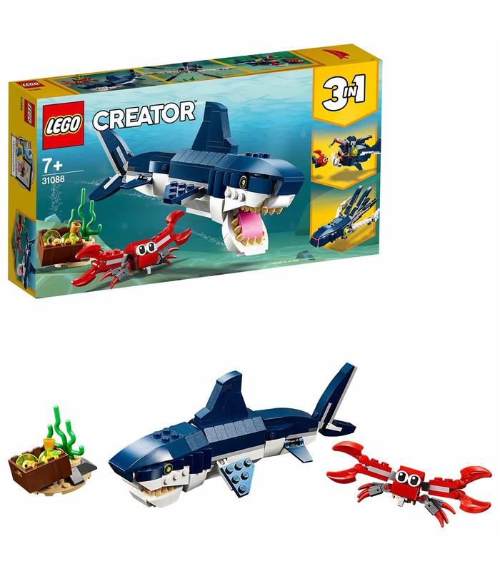 LEGO 31088 Tiburon Toy Store Articles Created Handbook