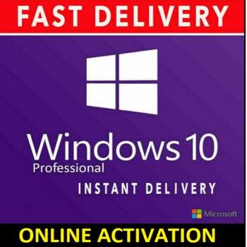 Clave WIN 10 PRO 32 64 bits, clave de activación, licencia de...