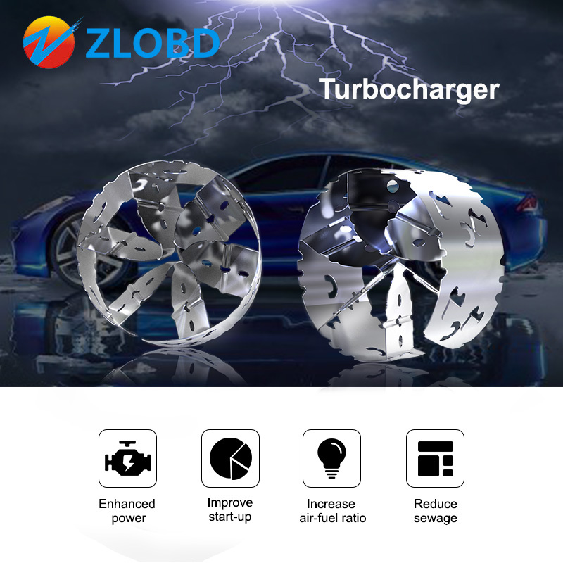 Turbocharger-Fuel-Saver Economy Car-Styling-Fit OBD2 Accelerator Mechanical Intake-Modified