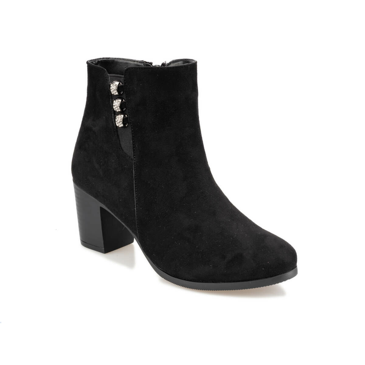 FLO 92.314310SZ Black Women Boots Polaris