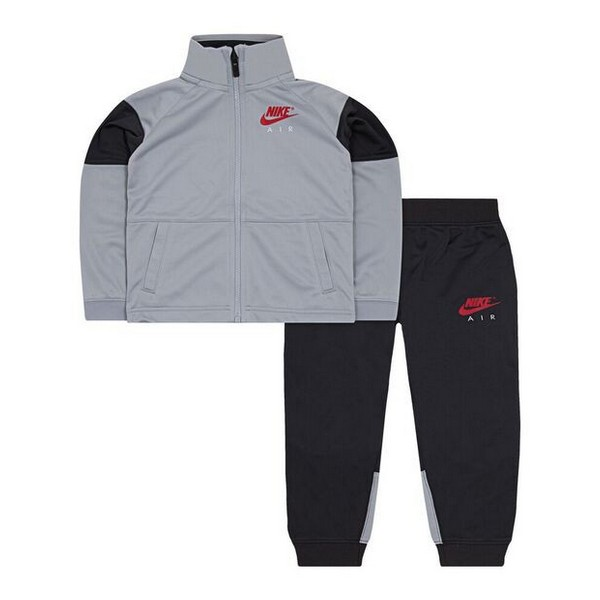 Children's Tracksuit Nike 627S-174 Grey Black (Size 2-3 Years)