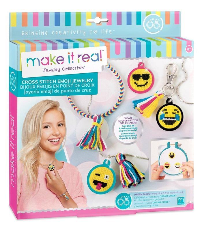 Jewelry Emoji Cross Stitch Mir Toy Store Articles Created Handbook