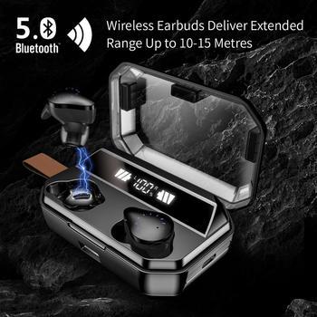 30pcs KPHRTEK X12 TWS Wireless Earphone Power Display Button Control Bluetooth 5.0 Earphones Sport Stereo Cordless Earbuds