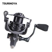 Tsurinoya NA 2000 3000 Spinning Fishing Reel 9BB 5.2:1 aluminiowa szpula Carp Fishing Lure Coil