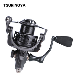 Tsurinoya NA 2000 3000  Spinning Fishing Reel 9BB 5.2:1 Aluminum Spool Carp Fishing Lure Coil
