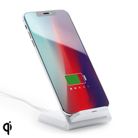 Qi Wireless Charger for Smartphones 10W 146544 (7 x 10 9 x 8 5 cm)