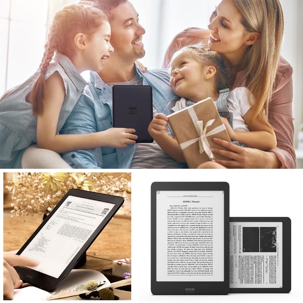 "Image 2 - BOOX NOVA Pro 7.8"" Ebook Reader 300PPI Carta Dual Color Frontlight UItra HD Ereader 2G/32GB 4 core Android 6.0 eBook e readereBook Reader   -"