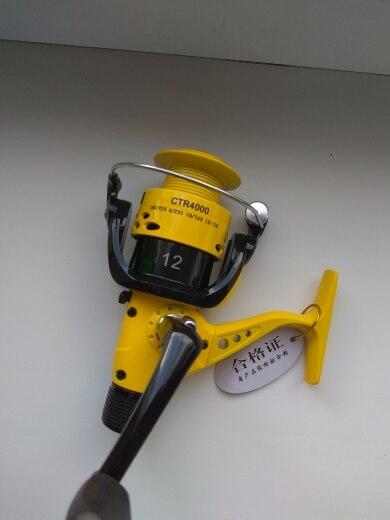 Carretilhas de pesca Ctr2000-7000 Dobrável Oscilante