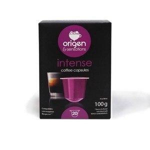Intense, 20 capsules origin Sensations compatible Nespresso