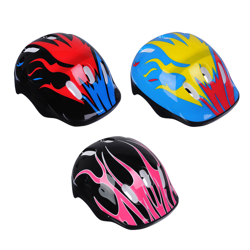 PROTECTIVE HELMET, PLASTIC, FOR ROLLERS OF BIKE SKATES