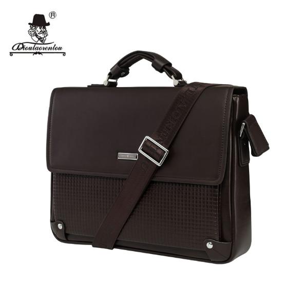 Men's Leather Bag 13 Inch DIOULAORENTOU OX694