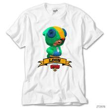 Brawl Stars Leon White T-Shirt()