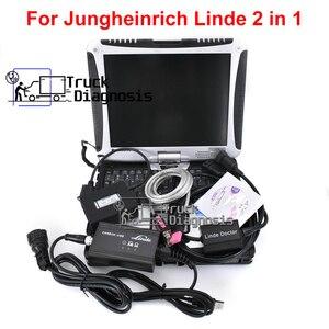 Image 1 - Judit 4 Jungheinrich Judit Incado Doos + Linde Canbox Arts Pathfinder Linde Lsg + Thoughbook CF19 Heftruck Truck Diagnostic Tool