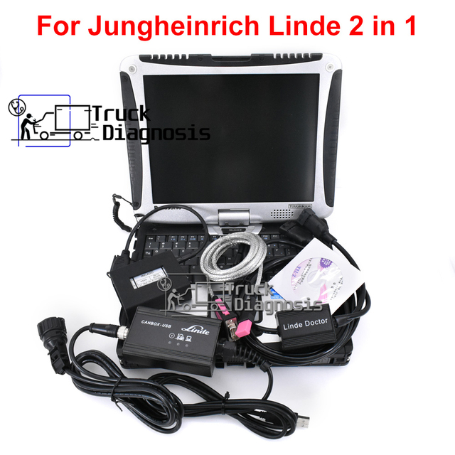 Judit 4 Jungheinrich Judit Incado Doos + Linde Canbox Arts Pathfinder Linde Lsg + Thoughbook CF19 Heftruck Truck Diagnostic Tool