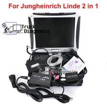 Judit 4 Jungheinrich Judit Incado box+Linde canbox doctor pathfinder LInde LSG+THOUGHBOOK CF19 forklift truck diagnostic Tool