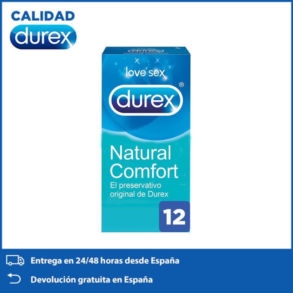 DUREX original comdoms Natural, Natural Comfort, Total 12 condoms