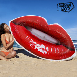Adventure Goods Inflatable Lips Lilo