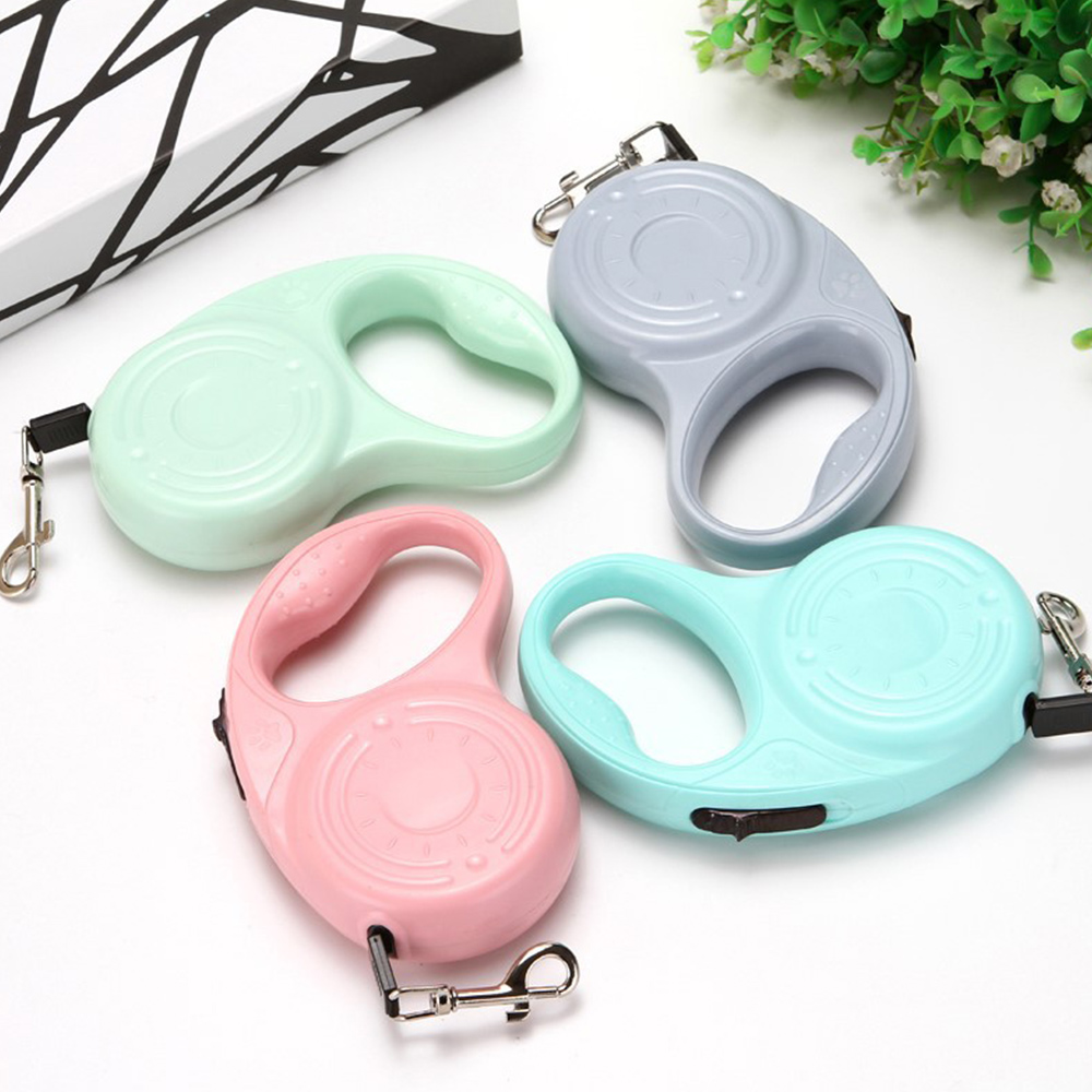 Automatic Retractable Leash Automatic Retractable Nylon Dog Lead Extending Puppy Walking Running Leads For Small Medium Dogs Pet