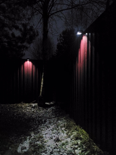 -- Lâmpada Jardim Sensor