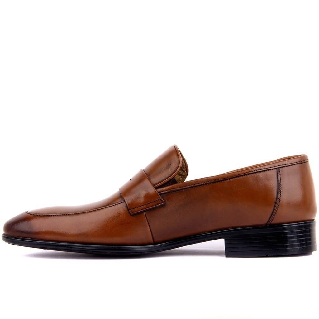 Fozo-tan cuir véritable hommes Chaussures décontractées de luxe hommes mocassins mocassins respirant sans lacet mode affaires robe formelle Chaussures hommes bureau fête mariage Chaussures confortables Chaussures Zapatos Hombre taille 39-46 - 3