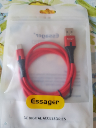 Essager USB Type C Cable 3m Fast Charge Wire Cord USBC Type C Cable for Xiaomi Redmi Note 8 7 Samsung Mobile Phone USB C Charger-in Mobile Phone Cables from Cellphones & Telecommunications on AliExpress