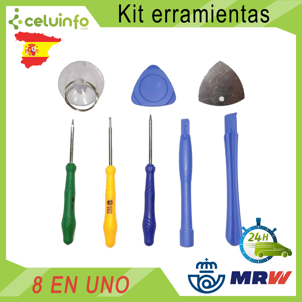 Kit Opening Tools, Repair And Disassembly Phone And Tablet Screwdriver Opening Tool, Plectrum And Suction Cup