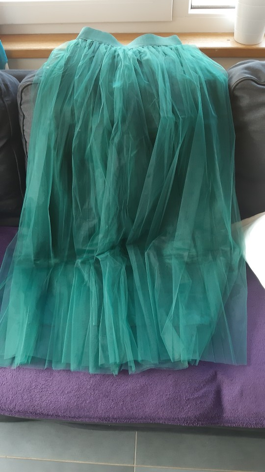 4 Layers 100cm Maxi Long Tulle Skirt Elegant Princess Fairy Style Tutu Skirts Womens Vintage Bouffant Puffy Fashion Skirt photo review