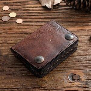Мужской кожаный чехол-кошелек SIKU, модный брендовый бумажник с отделением для монет, 2019