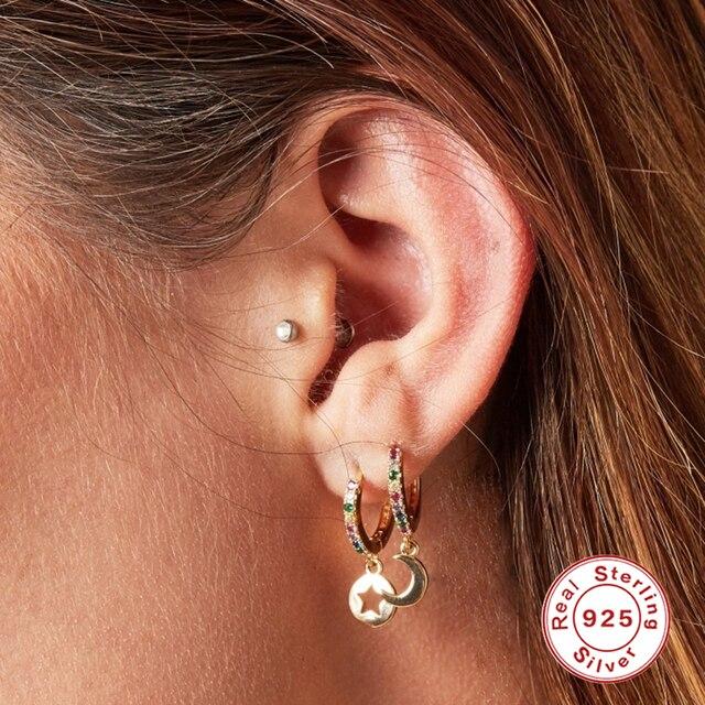 sterling fun geometric earrings 4