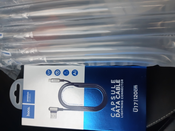 HOCO USB Cable for Apple 2.4A Fast Charging  Zinc Alloy 90 Degree for Apple iPhone 8 7 6 11 Pro X XS Max XR iPad Data Sync Wire-in Mobile Phone Cables from Cellphones & Telecommunications on AliExpress