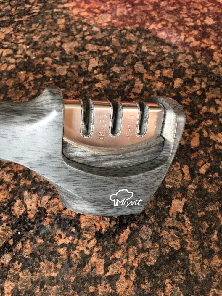 Afilador de cuchillos 4 en 1