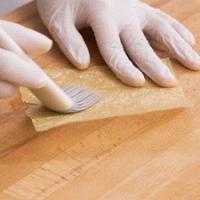 翡翠腐皮卷 | 香脆清爽的做法图解7