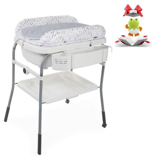Пеленальный столик с ванночкой Chicco Cuddle & Bubble Comfort