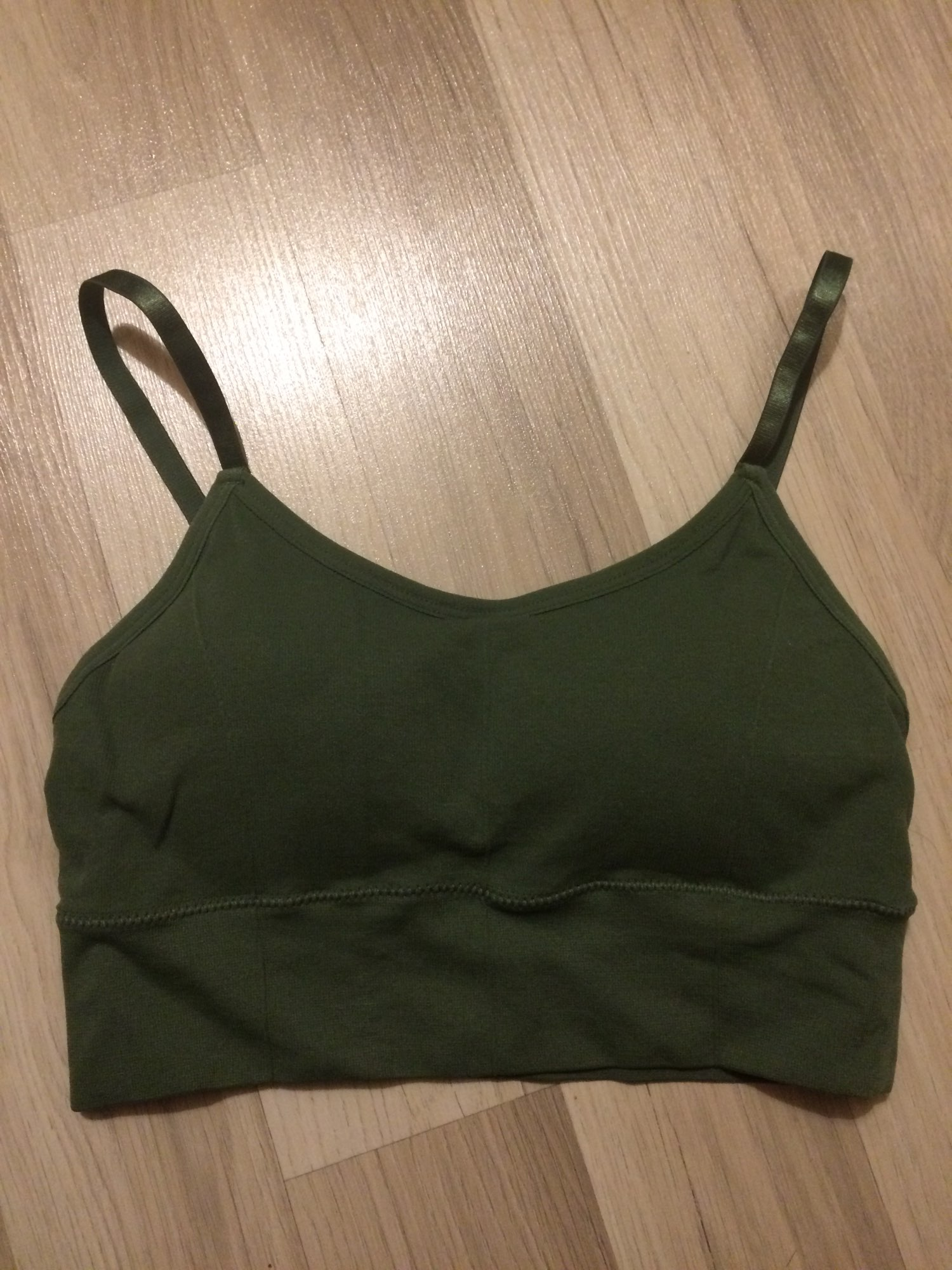Breathable Sports Seamless Bra Anti-Sagging photo review