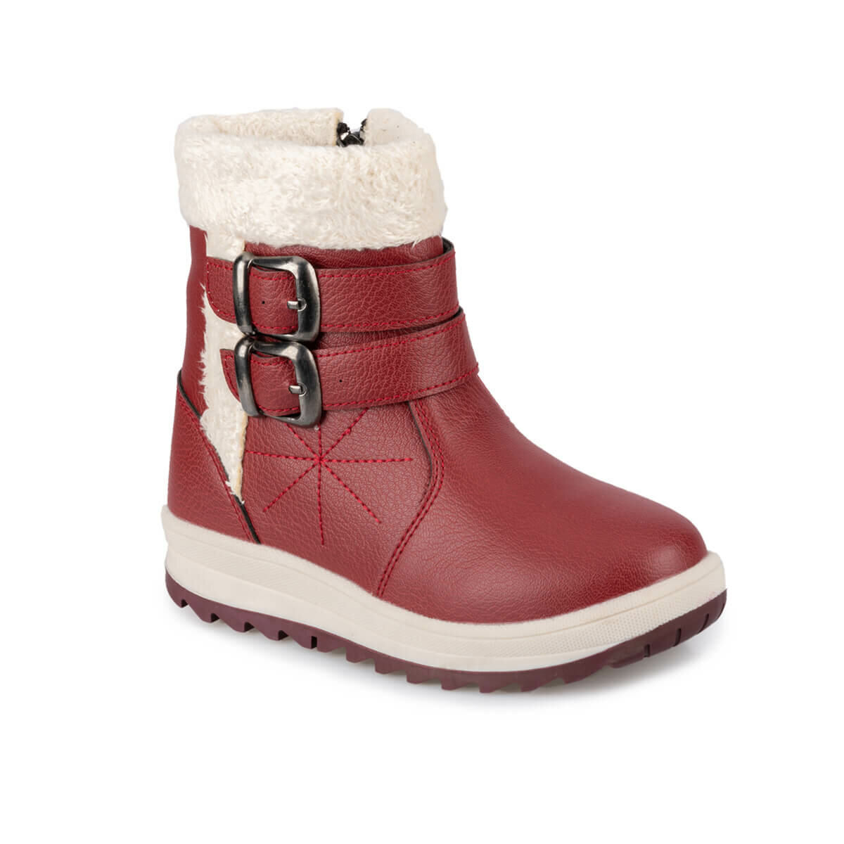 FLO VILKAS 9PR Burgundy Female Child Boots KINETIX