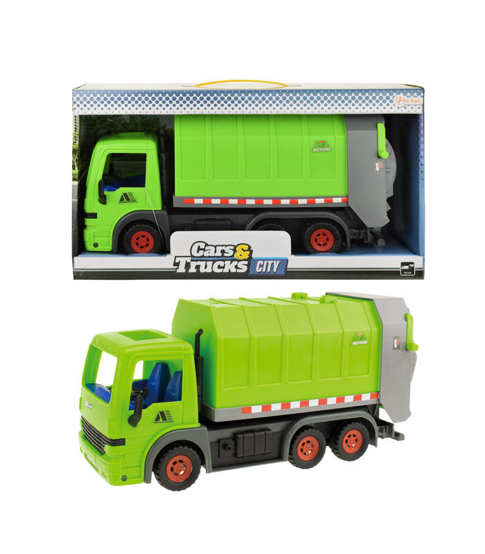 Garbage Truck Green 33cm Toy Store Articles Created Handbook