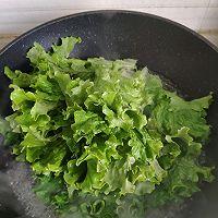 #百变鲜锋料理#鲍汁耗油蒜蓉生菜的做法图解6