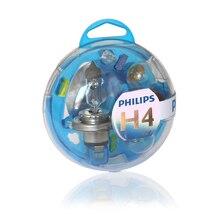 PHILIPS 55718EBKM H4 12 V-60/55 W (P43t) Set lamps Essential Box 39460