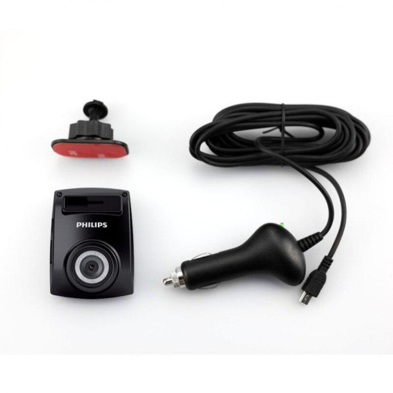 Philips DVR видеорегистратор ADR610 высокое разрешение ночная съемка 1920x1080 32G устройство наблюдени я для авто видео