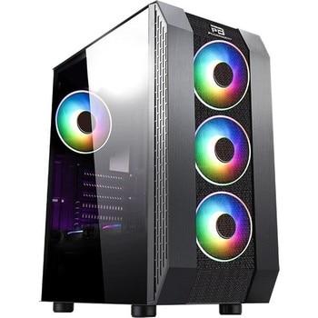 Power Boost VK-P3305B 500W USB 3.0 ATX Mesh Fixed Led Fan Black Computer case (JBST-VKP3305B) 1