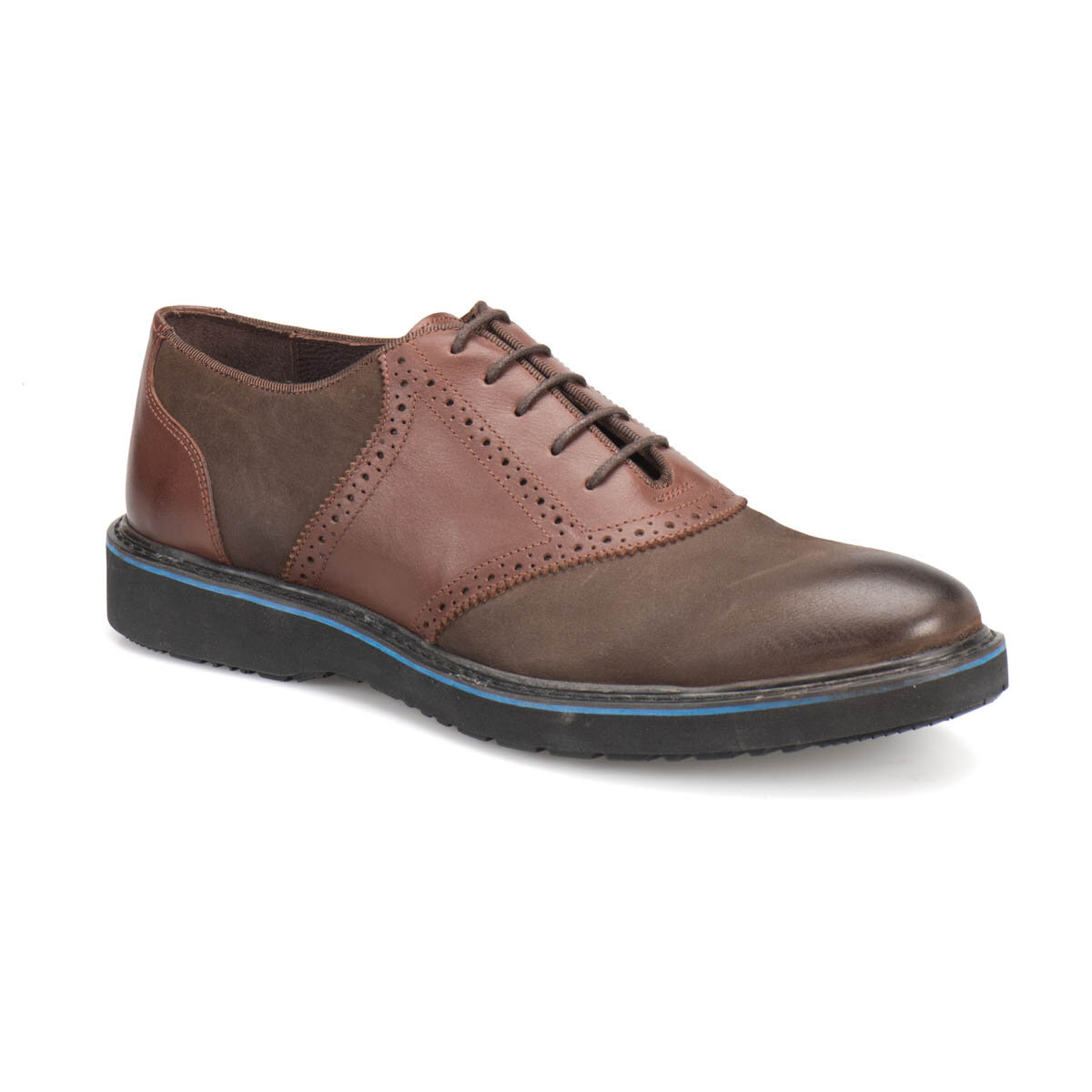 FLO 2068 Brown Men Shoes Garamond
