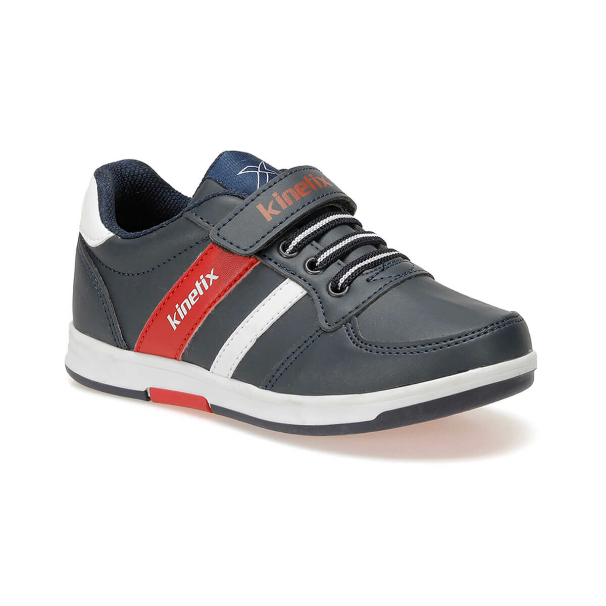 FLO UPTON PU 9PR Navy Blue Male Child Sneaker Shoes KINETIX