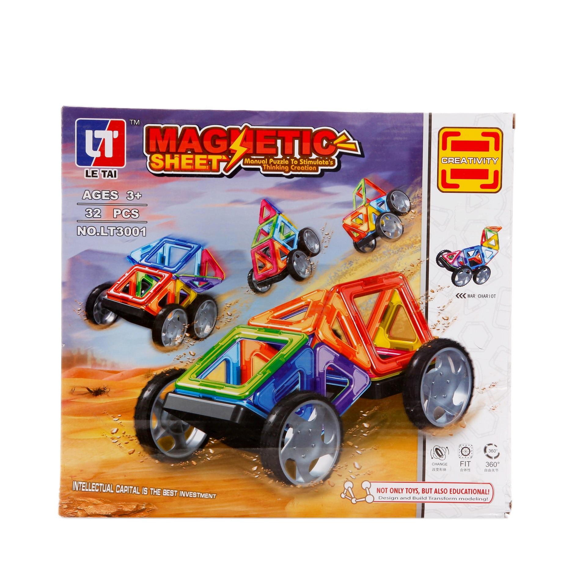 Magnetic Building Blocks Construction Set Magnetic Magnet Toys for Children Adults