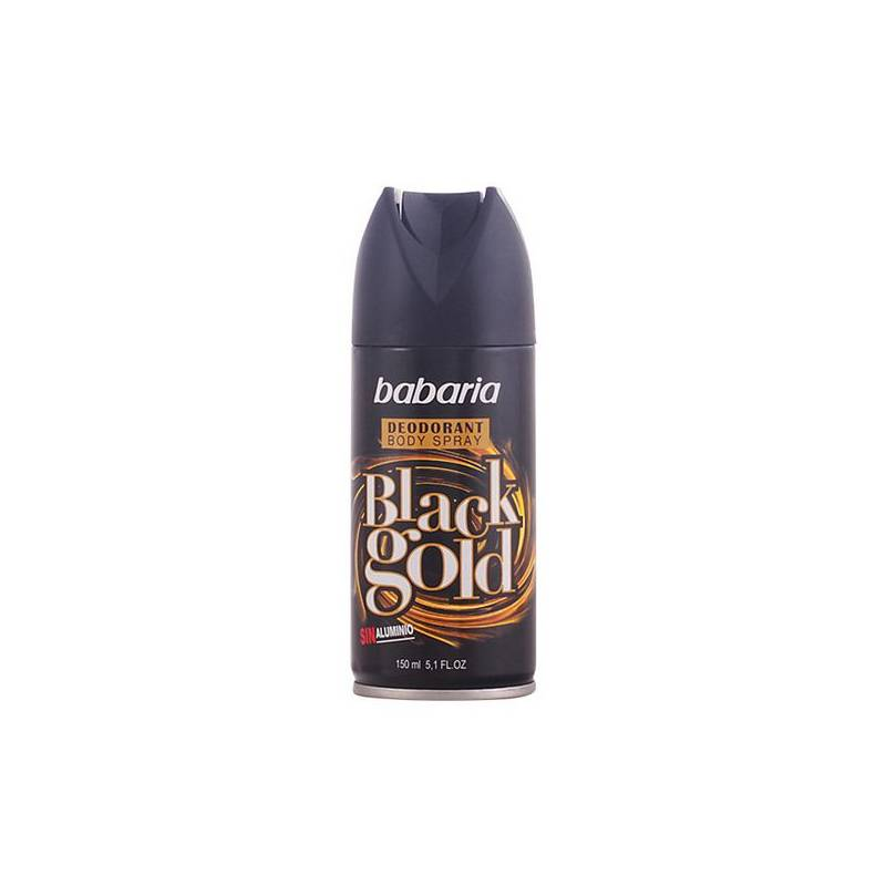 Deodorant Spray Men Black Gold Babaria (150 Ml)