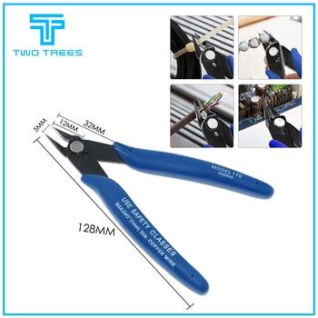 Platón Pinza de deseo estadounidense 170 para bricolaje alicates diagonales electrónicos pinzas de corte lateral cortador de alambre para Ender 3 PRO