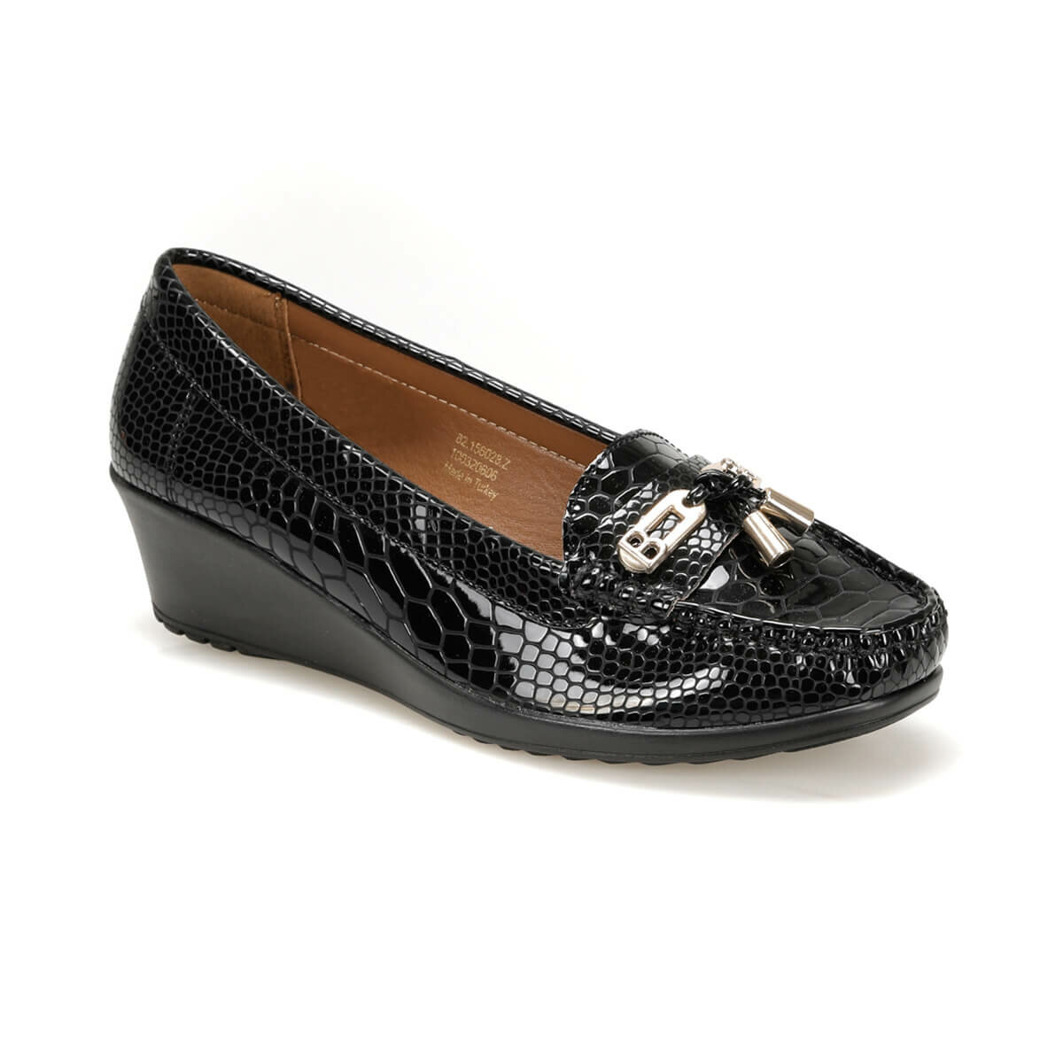 FLO 82.156028.Z Black Women Shoes Polaris