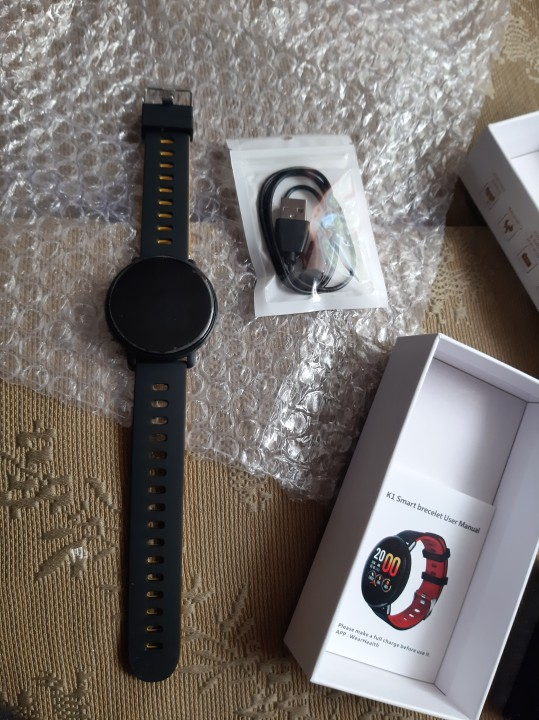 SENBONO K1 Smart Watch Men Women IP68 Waterproof Clock Activity Fitness tracker Heart rate monitor Smartwatch for IOS Android|Smart Watches| |  - AliExpress